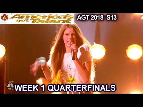 Xxx Mp4 Courtney Hadwin Papa S Got A Brand New Bag AWESOME Quarterfinals 1 America S Got Talent 2018 AGT 3gp Sex