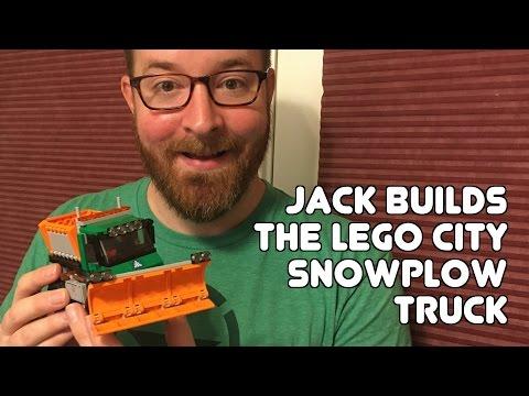 Jack builds the LEGO Snowplow Truck set!