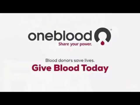 I Am OneBlood Logan: Blood Donation