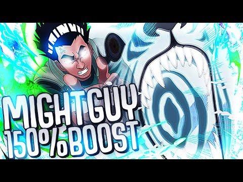 ** 7th GATE GUY 150% BOOST & THOUGHTS ** | ** Naruto Ultimate Ninja Blazing *