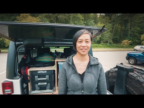 Our JEEP KITCHEN Setup and Camp Essentials