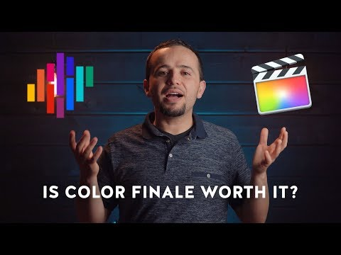 Is Color Finale Worth It? - Compared to the New Final Cut Pro X 10.4 Color Grading Tools