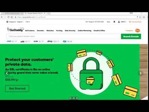 How to configure Godaddy custom domain email on OUTLOOK | Bangla