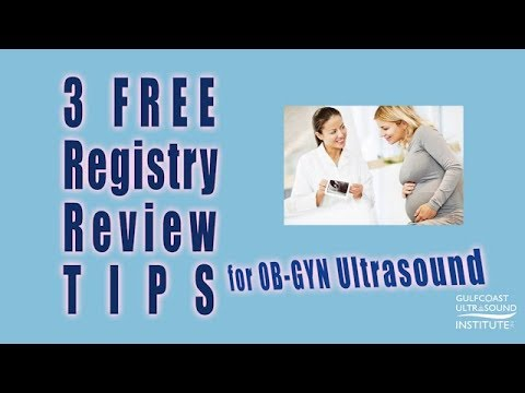 OB/GYN Ultrasound Registry Review- 3 Free Tips