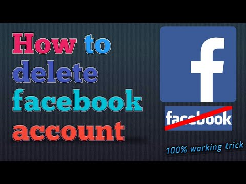 Deactivate facebook account(temporarily and permanently both)-easy way