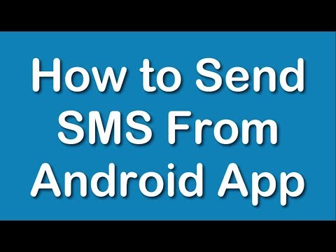 How To Send SMS From Android App?