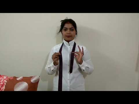 How to make Tie (how to tie a tie) (Hindi audio)