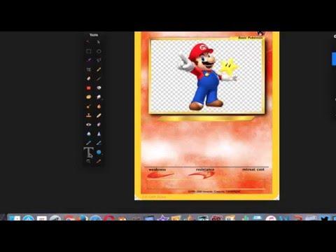 Add Text to Pokemon cards