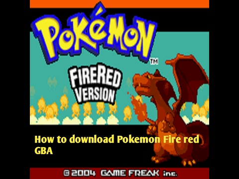 HOW TO DOWNLOAD POKEMON FIRE RED GBA FOR ANDROID