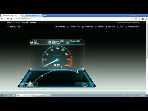 Latest BSNL Broadband Speed Test 2016