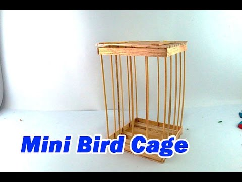 How to Make a Mini Bird Cage