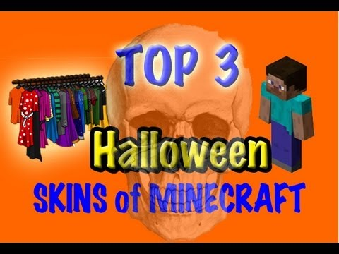 Minecraft Skins - Top 3 Halloween Skins of Minecraft