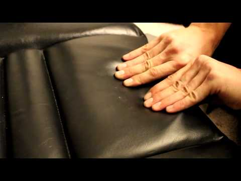 How to fix indentation in leather seat-EASY