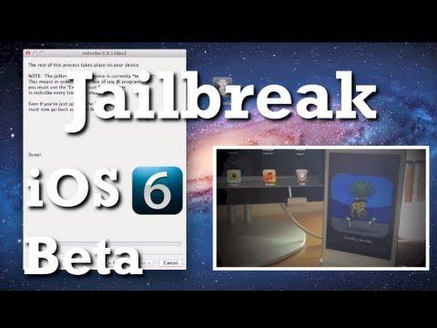 iOS 6.0 Beta 1-2-3 - Jailbreak avec Redsn0w (iPhone, iPod touch)