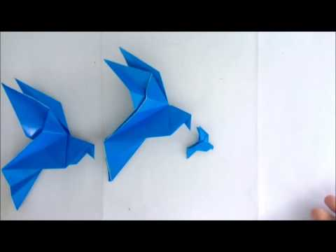 Origami Dove Made Easy