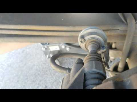 2010 Ford F150 Upper Brake Caliper Bolt Removal