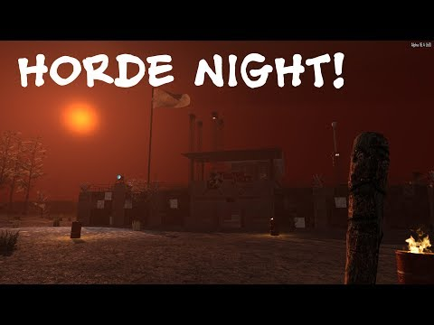 Horde Night | 7 Days to Die | Classic Nomad Mod | Ep 9