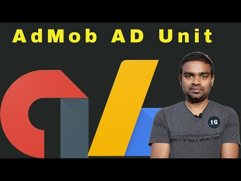 How to Create AdMob account & Ad Unit - What is the difference between Adsense & Admob? Series #3
