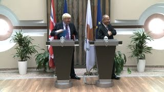 Britain says Cyprus solution within reach