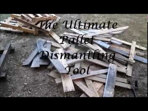 The Ultimate Pallet Dismantling tool!!