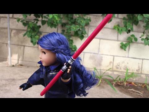 DIY American Girl Doll Lightsaber