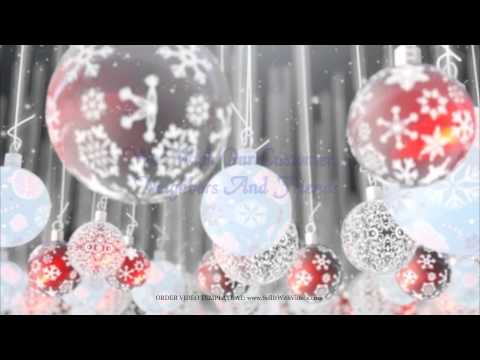 Magical Business Holiday Greeting Videos For Businesses For Facebook, YouTube