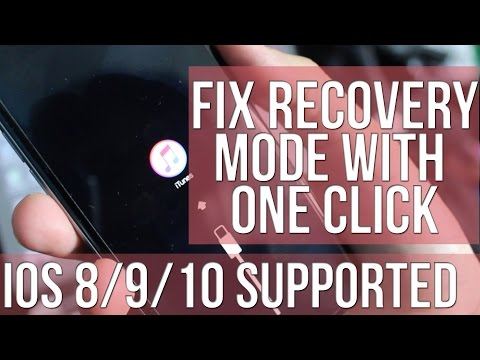 Easy Fix Recovery Mode Loop OR iTunes Logo on iPhone, iPad & iPod Touch