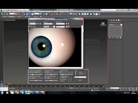 3Ds Max Realistic Eye Part 2