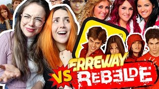 REBELDE VS REBELDE WAY | Andrea Compton ft Berry