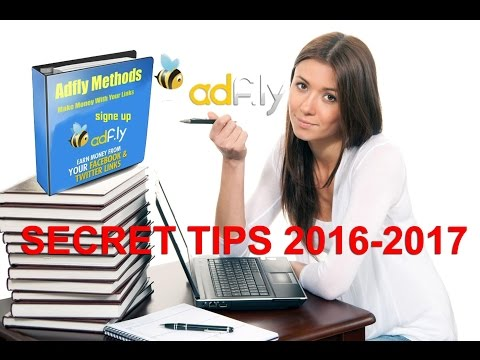AdFly How to Register Signe up