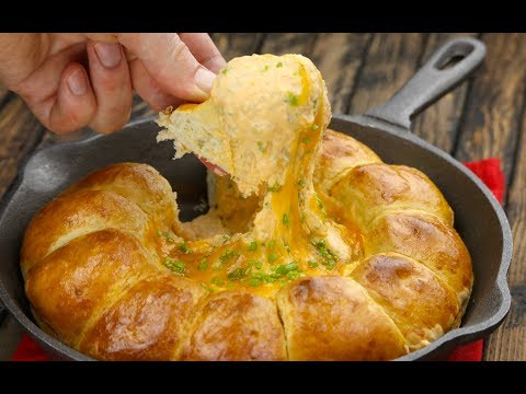 Beer & Cheese Dip Loaf: The perfect snack for the big game