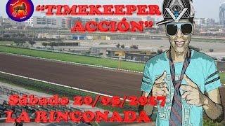 """""""TIMEKEEPER EN ACCIÓN"""" SABADO 20 de MAYO LA RINCONADA"""