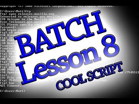 Batch Programming: Lesson 8 (Advanced encryption/decryption script)