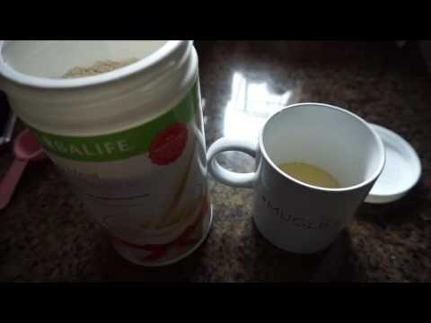 Herbalife mug cake