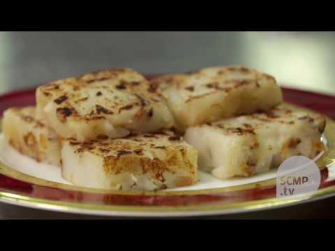 Learn how to make turnip cake from Hong Kong's top chef