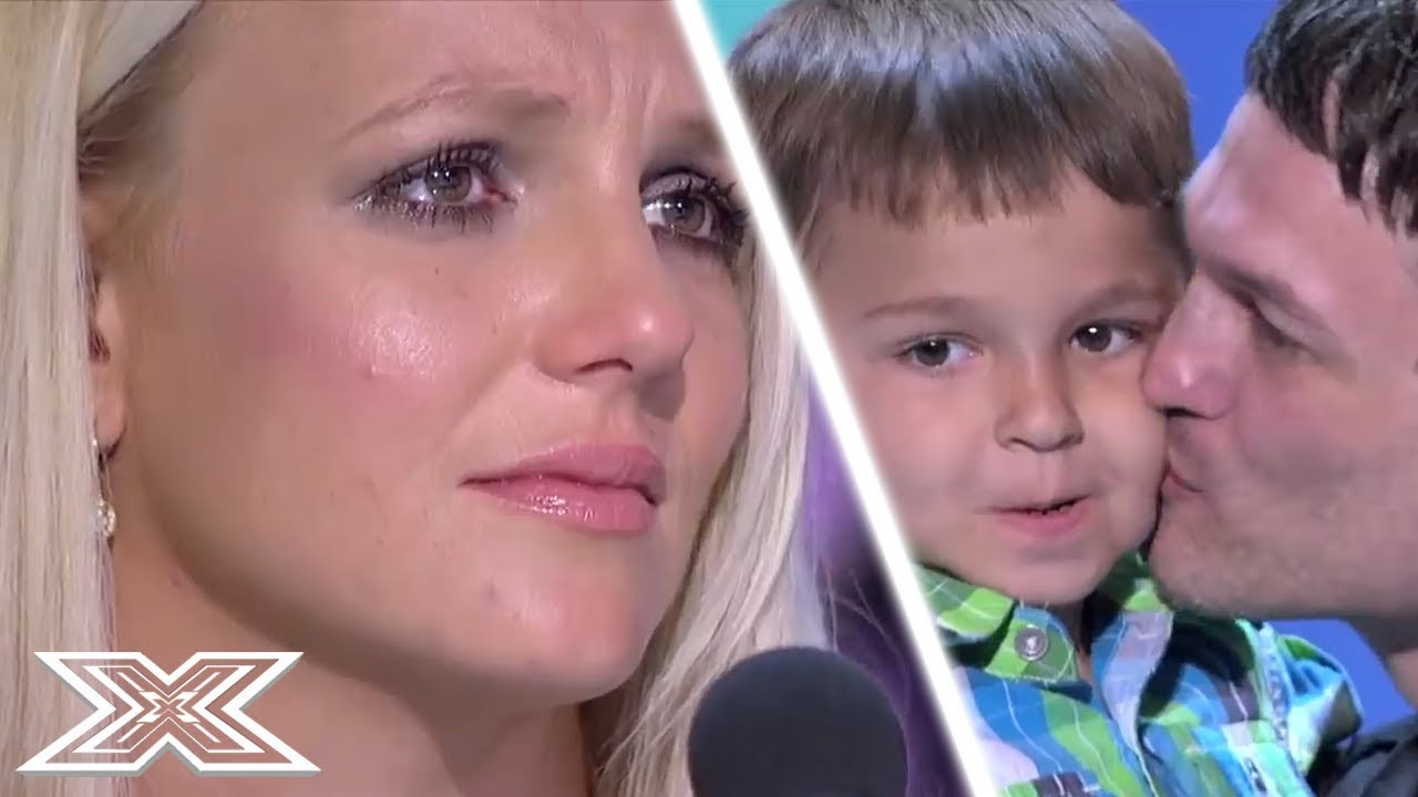 EMOTIONAL Britney Spears CRIES At OUTSTANDING Audition | X Factor Global