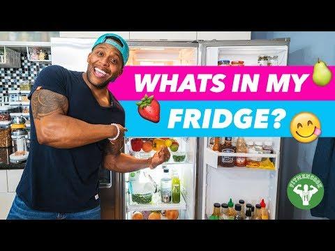 FRIDGE TOUR - Whats In My Fridge? | Fit Men Cook