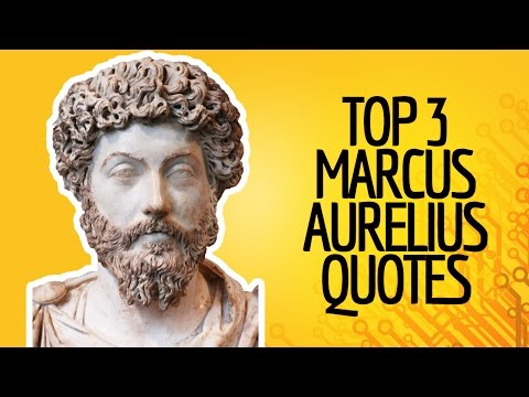 My Top 3 Marcus Aurelius Quotes