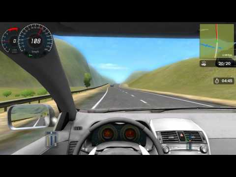 City Car Driving Career Walkthrough 3 STAR - Experienced 1- Country Driving
