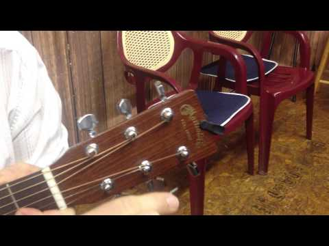 How to break guitar string without wire cutters.