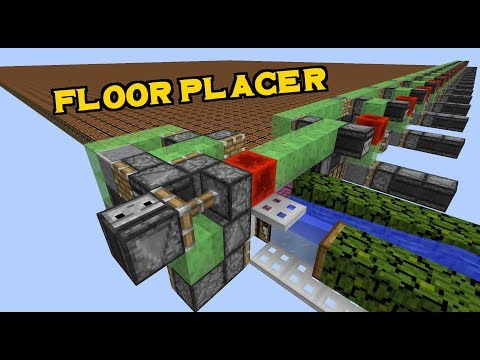 AFK Automatic Floor Placer!- 1.12 Vanilla Survival