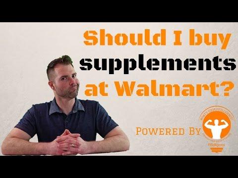 Should I buy Supplements at Walmart?