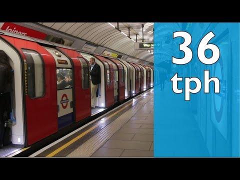 Victoria Line - 36 Trains Per Hour