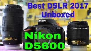 What do you get in the box ?? unboxed nikon d5600 (hindi)2017