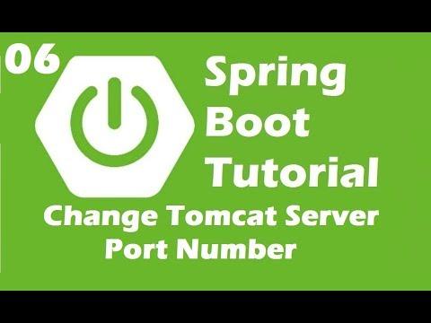 Change Embedded Tomcat Port Number in Spring Boot   Java Inspires