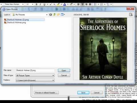 Atlantis Word Processor. Creating eBooks (Part 2). Adding cover images