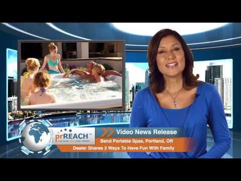 Bend Portable Spas, Portland, OR | Swim Spas, Saunas Sale Dealer Shares Fun With Family