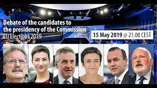 Download Debate of the candidates for the presidency of the European Commission – EU Elections 2019 Video