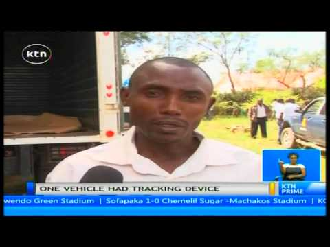 Police track and find a stolen car in Nairobi