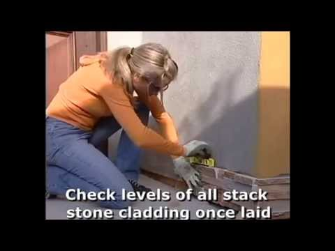 How to install Stack Stone Cladding by Stone & Slate Discounts, Australia
